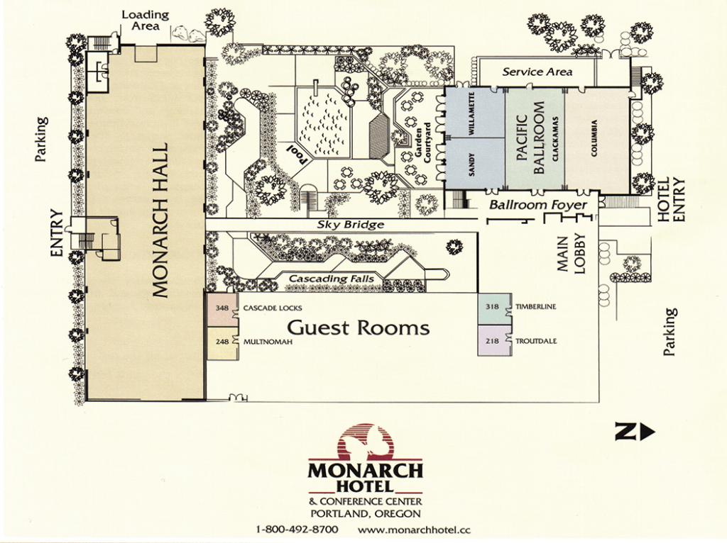 Facility Layout - Monarch Hotel
