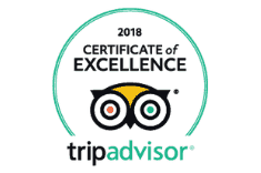 TripAdvisor Certificate of Excellence - Monarch Hotel